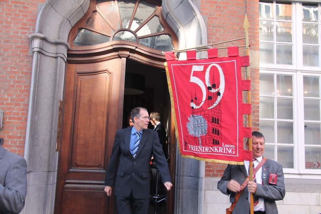 Vlag van de mannen van 59 op de 64ste jaartallendag