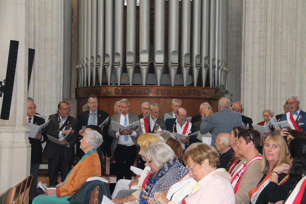 Kerkdienst op de 64ste jaartallendag